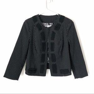 Cabi Dot Jacket #5156 Black White 4